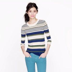 J.crew Tippi sweater in multi-stripe